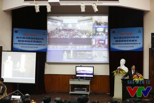 Các bệnh viện vệ tinh họp hôi nghị trực tuyến qua internet với chất lượng hình ảnh và âm thanh HD