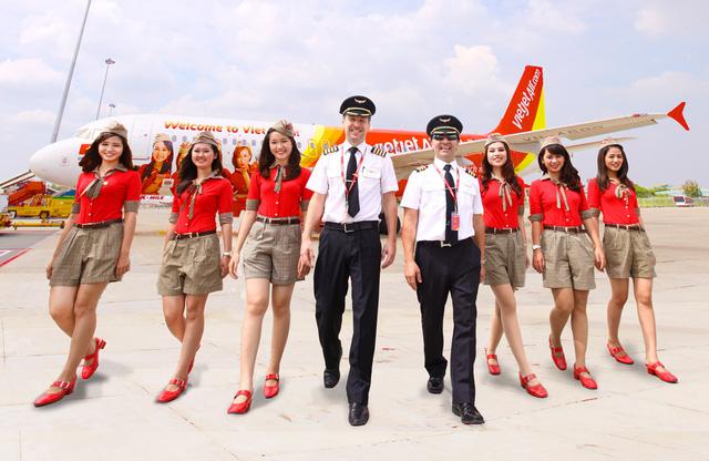 VietJet Air Booking mang đến cho mọi người những chuyến bay chất lượng với giá vé thấp. ( Ảnh: Vnexpress ).