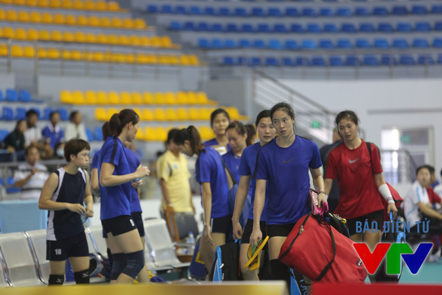 Sáng mai (25/7), cả đội tập buổi cuối trước khi bước vào giải VTV Cup 2015.