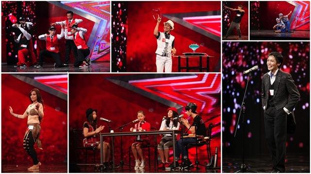Các thí sinh trong đêm bán kết 5