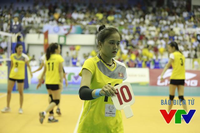 Cô có dấu hiệu xuống sức trong trận bán kết và không thể giúp ĐT Việt Nam bảo vệ chức vô địch