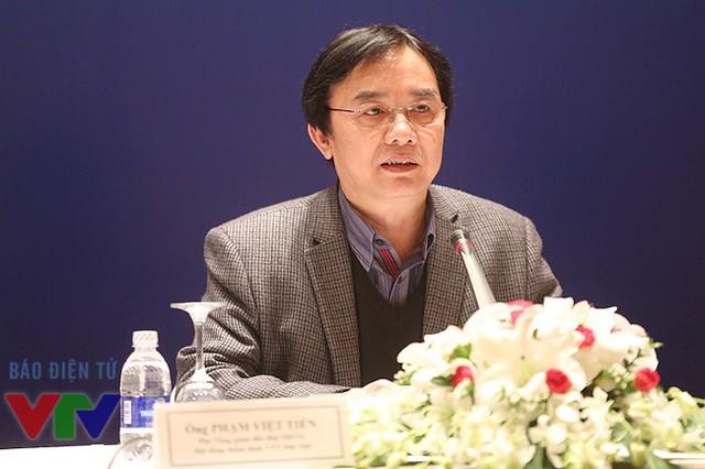 Ông Phạm Việt Tiến - Phó Tổng Giám đốc Đài THVN.