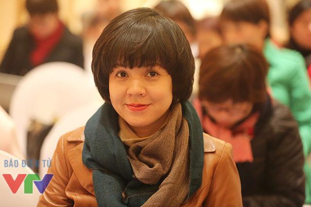Nhà báo Diễm Quỳnh - Phó Trưởng Ban Thanh thiếu niên, Đài THVN.