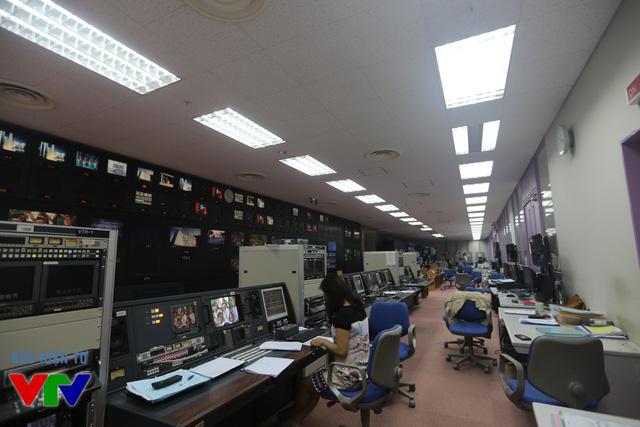 Phòng Tổng khống chế, Trung tâm KTSXCT, Đài THVN