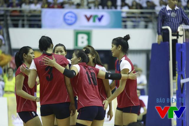 Số 10 của tuyển Việt Nam luôn ra sân với quyết tâm cao. Tại VTV Cup 2015, cô luôn xuất phát ở đội hình chính.