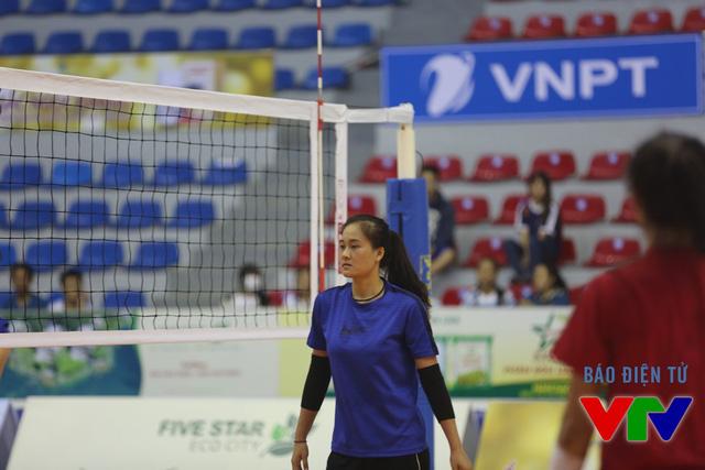 Chút tiếc nuối với cây chuyền hai của Thông Tin Liên Việt Post Bank khi cô bị cảm ở những ngày thi đấu cuối cùng