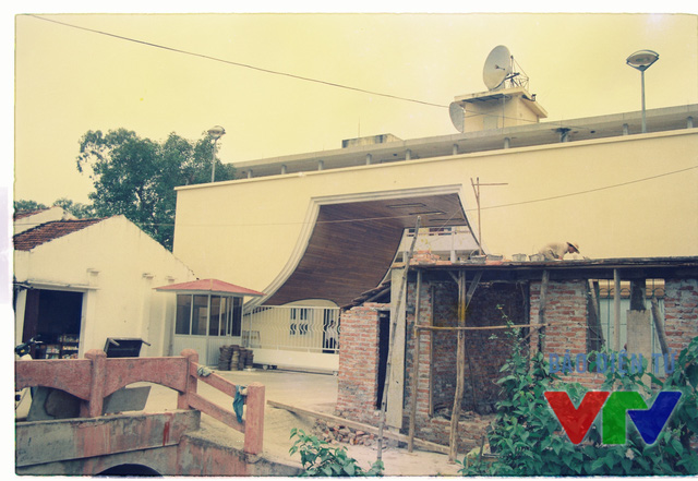 Cổng chính của Đài Truyền hình Việt Nam thời kỳ đầu