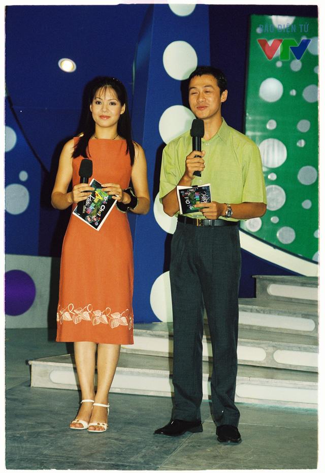 BTV Diễm Quỳnh và Anh Tuấn là cặp đôi MC quen thuộc của Trò chơi âm nhạc.