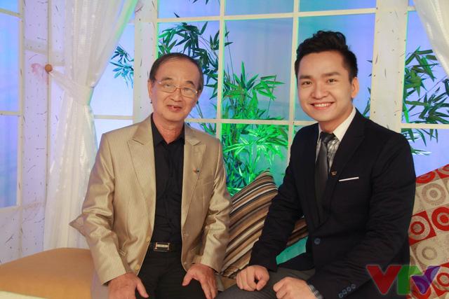 NSƯT Thanh Hùng và MC Hạnh Phúc