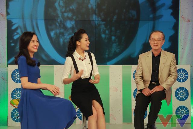 NSƯT THanh Hùng và 2 MC trẻ Ngọc Bích, Thu Hà