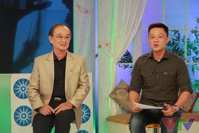 NSƯT Thanh Hùng và BTV Quang Minh