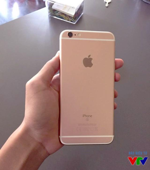 Camera sau của iPhone 6S Plus đã được nâng cấp lên độ phân giải 12MP Thiết