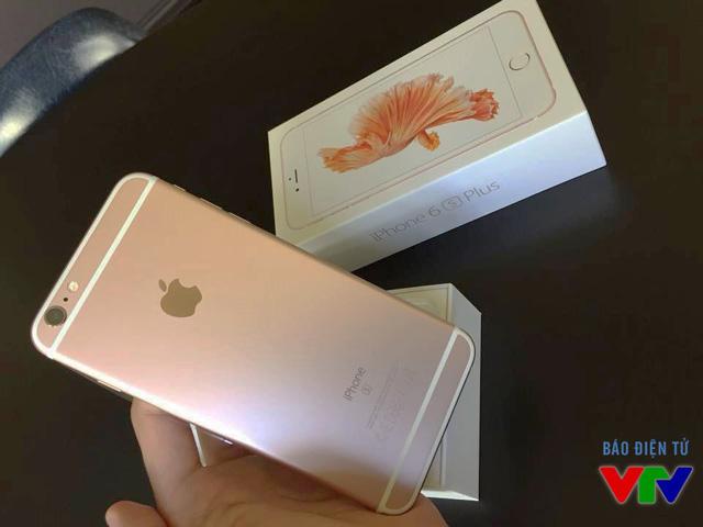 Thiết kế của iPhone 6S Plus không có nhiều khác biệt so với iPhone 6 Plus (Ảnh: Hoàng Hiệp)