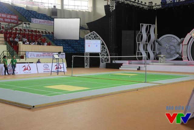 Sân thi đấu cũng đã sẵn sàng cho những trận tranh tài đỉnh cao