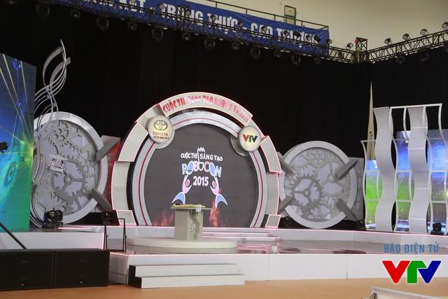 Màn hình hiển thị trên sân khấu