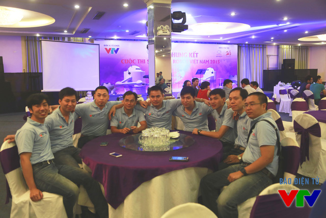 Tổ Trọng tài của vòng Chung kết cuộc thi Robocon Việt Nam 2015
