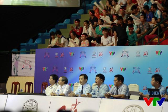 Ban Giám khảo tại vòng Chung kết cuộc thi Robocon Việt Nam 2015
