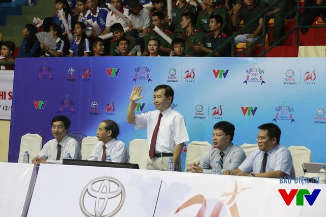 Ban Giám khảo của vòng Chung kết cuộc thi Robocon Việt Nam 2015