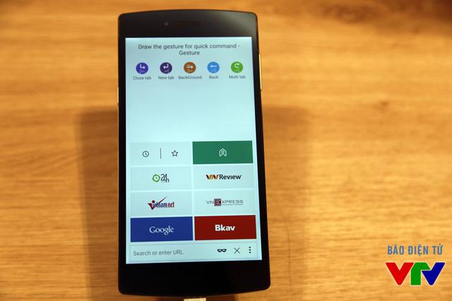 Bkav trình làng trình duyệt web mới tích hợp trên BPhone mang tên Bchrome
