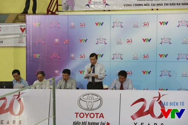 Ban Giám khảo cuộc thi Robocon Việt Nam 2015 tại vòng loại khu vực phía Bắc