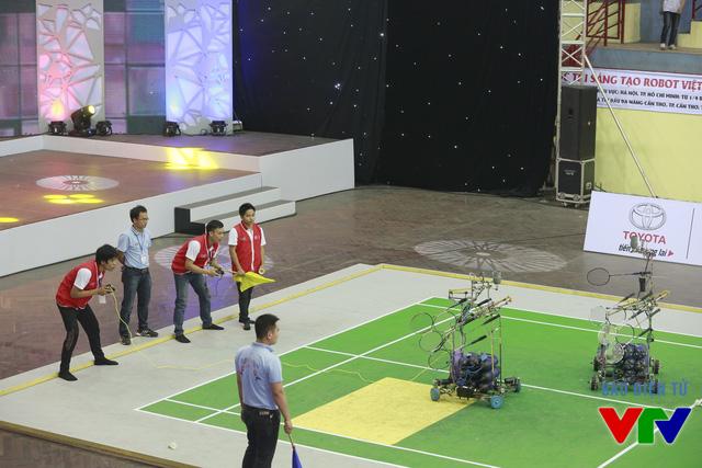 Các đội tuyển đã thi đấu hết sức căng thẳng để giành tấm vé vào vòng Chung kết
