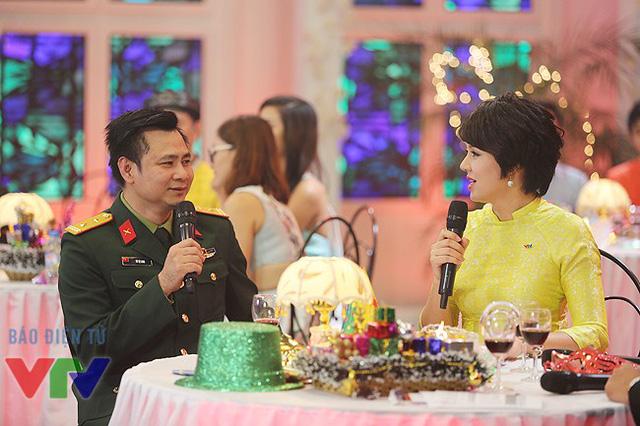 Trong Gặp gỡ VTV 2015, NSƯT Tự Long sẽ thể hiện một điệu chèo cổ.