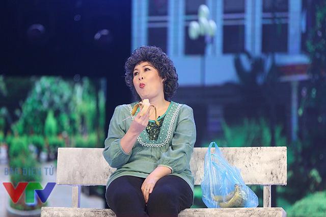 Nữ diễn viên Hồng Vân luôn là cái tên ít khi thiếu của Gala cười mỗi năm.