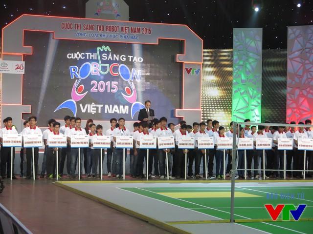 73 đội tuyển đến từ 18 trường Đại học và Cao đẳng tham dự vòng loại cuộc thi tại khu vực phía Bắc