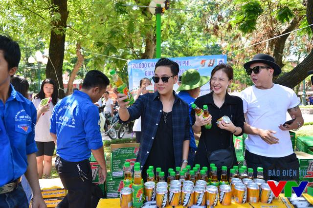 Ca sĩ JustaTee, Trâm Anh và Producer Hoàng Touliver