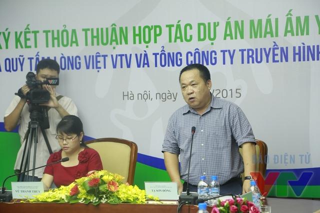 Ông Tạ Sơn Đông - Phó Tổng Giám đốc Tổng Công ty Truyền hình Cáp Việt Nam
