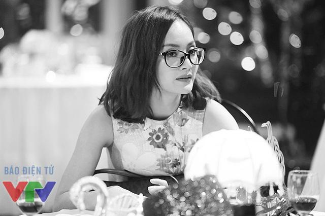 Diễn viên Lan Phương - một trong những khách mời của Gặp gỡ VTV 2015.