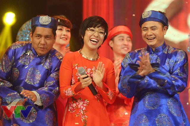 Diễn viên Đức Thịnh, MC Thảo Vân và diễn viên Tự Long.