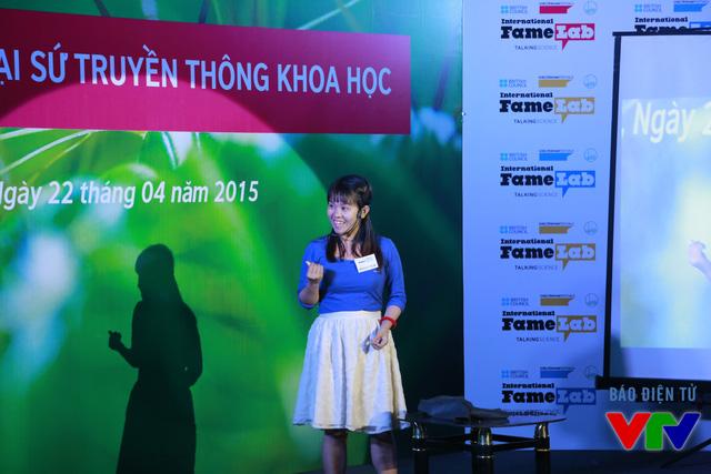 Nguyễn Thị Thu Diệu (Đại học Bách khoa Hồ Chí Minh) với chủ đề Tổng hợp ống Nano Carbon đơn thành từ nguồn nguyên liệu lỏng và một số ứng dụng