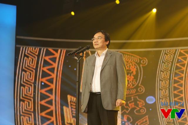 Chủ tịch LHTHTQ lần thứ 35 phát biểu trong buổi tổng duyệt