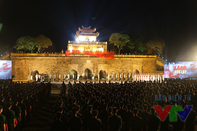 Quang cảnh Lễ truyền cở tại Hoàng thành Thăng Long