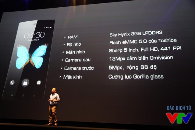 Thông số chi tiết của BPhone