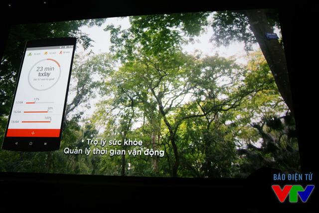 BPhone hỗ trợ theo dõi sức khỏe người dùng