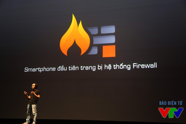BPhone là smartphone đầu tiên trang bị hệ thống Firewall