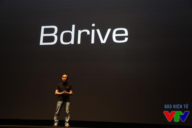 Dịch vụ lưu trữ điện toán đám mây mới mang tên Bdrive cũng được Bkav cho ra mắt
