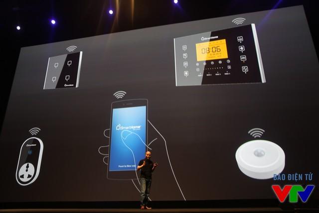 Bkav cũng giới thiệu mảng kinh doanh thiết bị thông minh của hãng