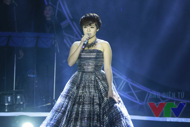 Hải Yến trình diễn một bản tình ca mới của cô và tác giả Liêu Hưng mang tên Anh ơi.