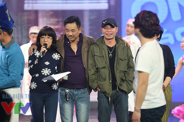 MC Thảo Vân, diễn viên Quốc Khánh và Công Lý.