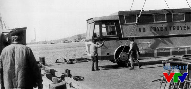 Tiếp nhận xe vô tuyến truyền hình lưu động của Tiệp Khắc năm 1972