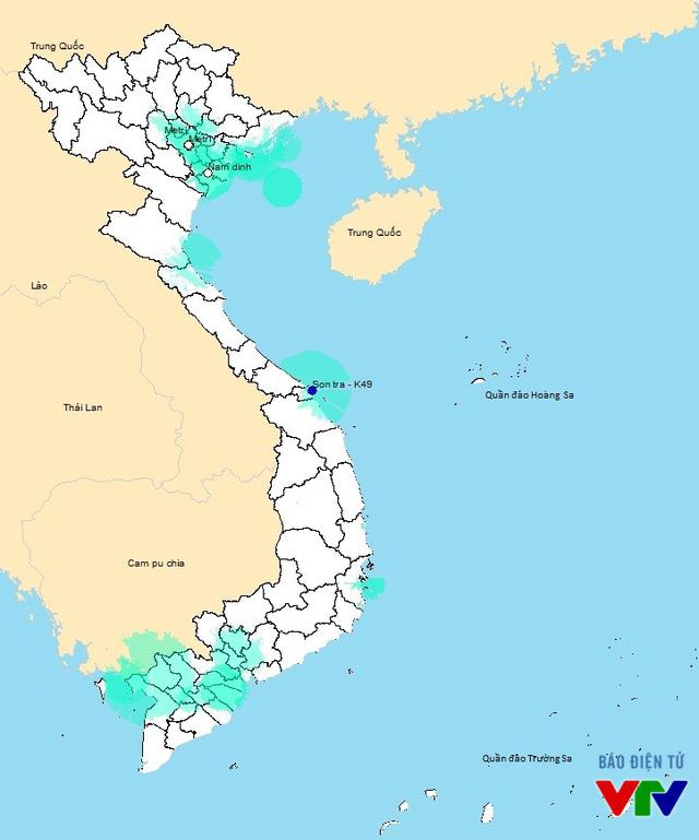 Đài Truyền hình Việt Nam đã triển khai 18 trạm phát sóng số trên cả nước