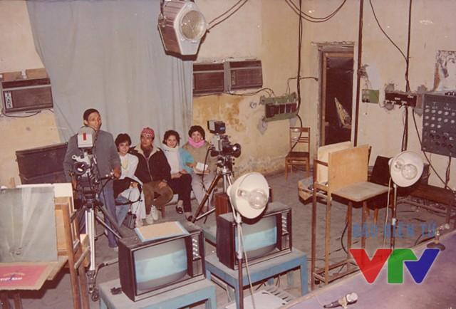 Trung tâm kỹ thuật phát sóng Đài Truyền hình Việt Nam năm 1994