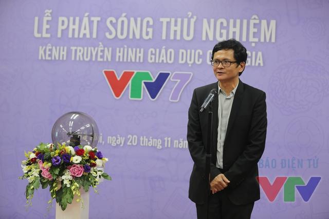 """Chúng tôi còn hơn một tháng nữa để chạy đua với thời gian để sản xuất chương trình, xây dựng format, mua bản quyền và hoàn thiện kỹ thuật để 1/1/2016 phát sóng chính thức kênh VTV7"""", Tổng Giám đốc Trần Bình Minh chia sẻ."""