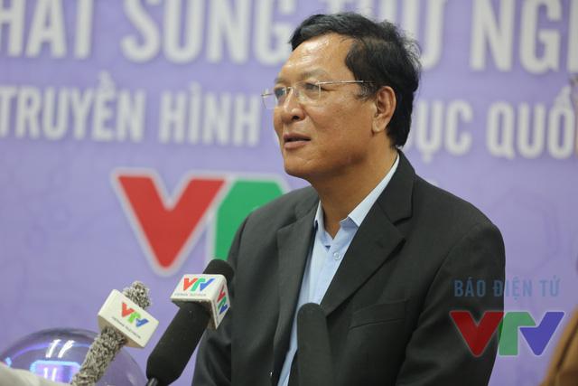 Bộ trưởng Phạm Vũ Luận phát biểu tại lễ phát sóng thử nghiệm kênh Truyền hình Giáo dục quốc gia VTV7