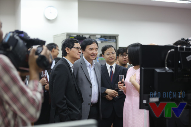 Buổi lễ có sự góp mặt của các lãnh đạo của Đài THVN