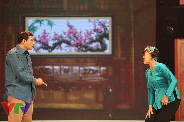 Trong Chọn tên cho con, Vân Dung và Quang Thắng vào vai một cặp vợ chồng.