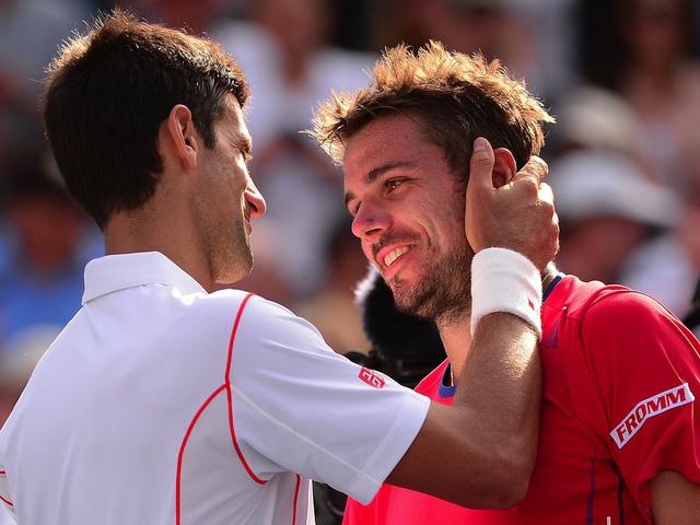 Hai tay vợt đã có những cuộc đối đấu nghẹt thở.